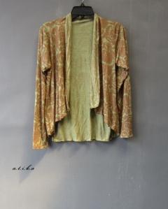 simple cardi motif batik