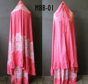 Mukena batik -1