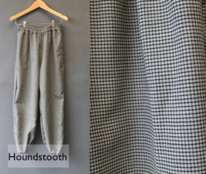 Semi aladin houndstooth mini