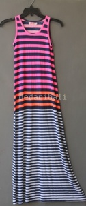 basic dress stripe