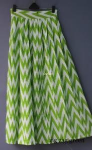 pop green zig zag